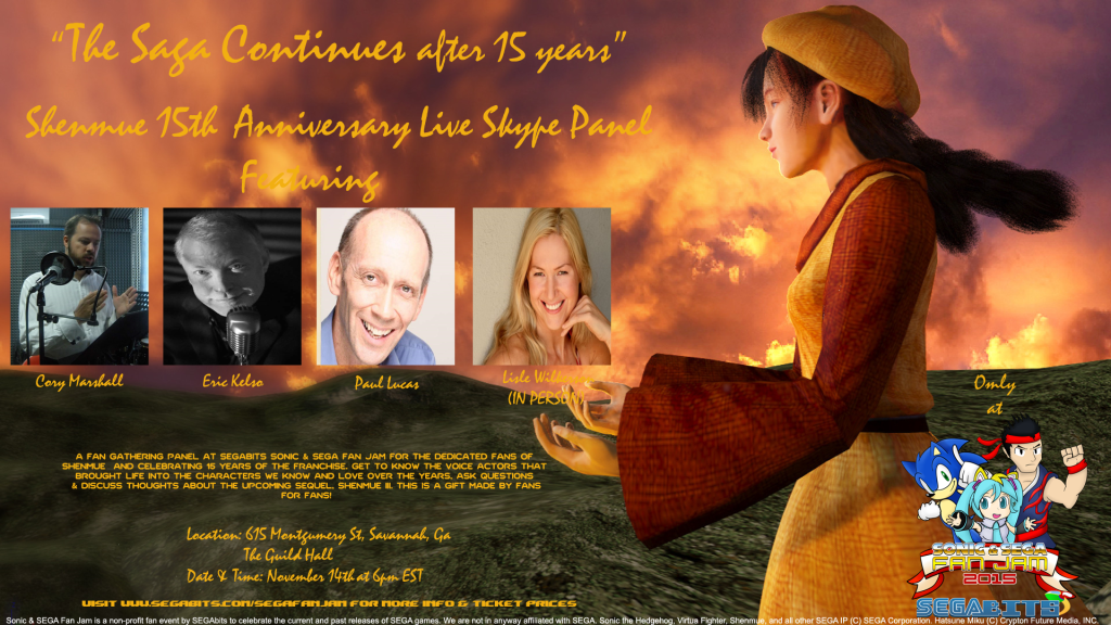 Shenmue Skype Panel