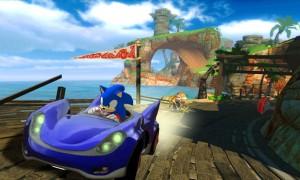 Sonic and SEGA Allstars Racing was one of SEGA's top sellers