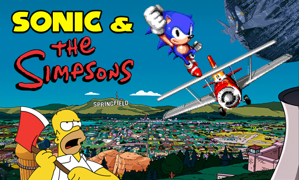 Sega In The Media Sonic And The Simpsons 187 Segabits 1