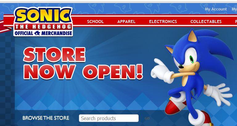 Sega Europe Opens A Sonic Merchandise Online Store Segabits 1 Source For Sega News