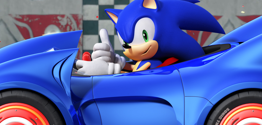 Sonic Racing Car Toy