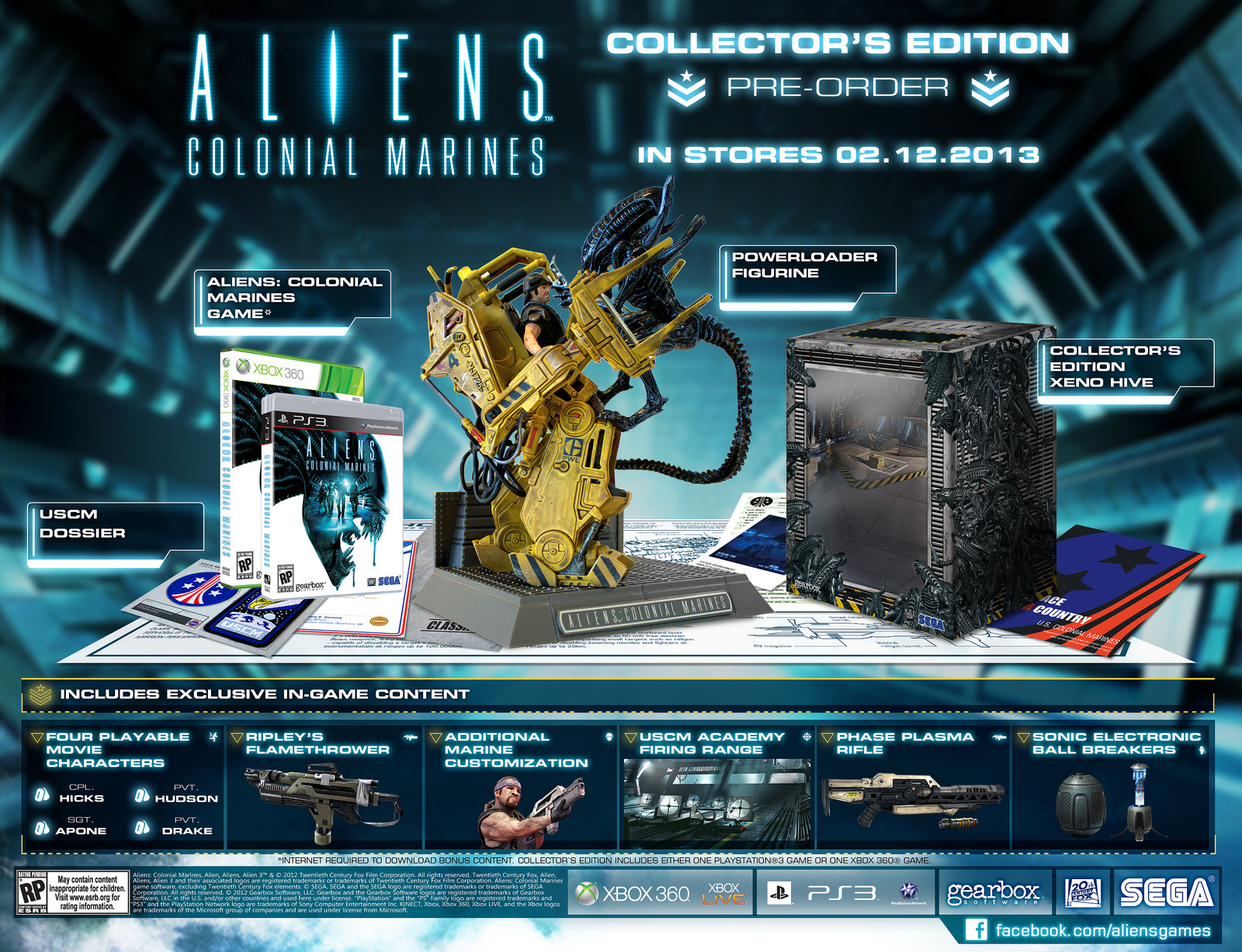 Aliens Colonial Marines Collector S Edition Gets
