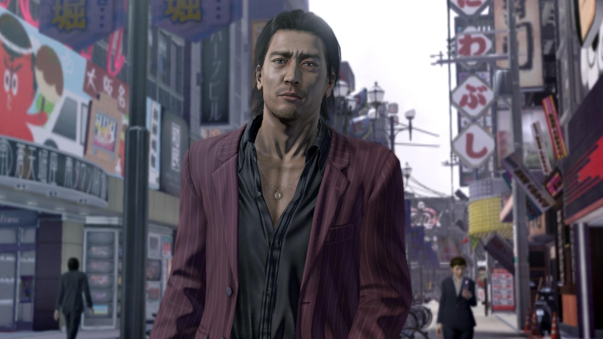 Yakuza 5  Check out characters that occupy OsakaYakuza