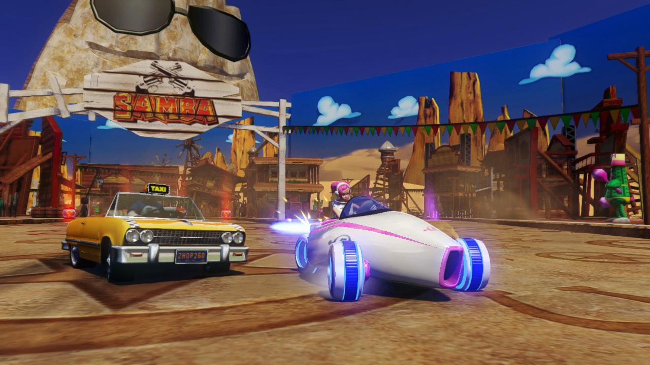 Sonic the Hedgehog transformé Sega All-Star Racing Télécommande Voiture de course