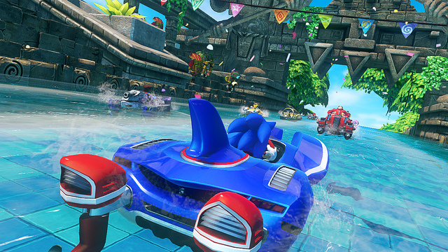 Sonic & All-Stars Racing Transformed has awesome realistic