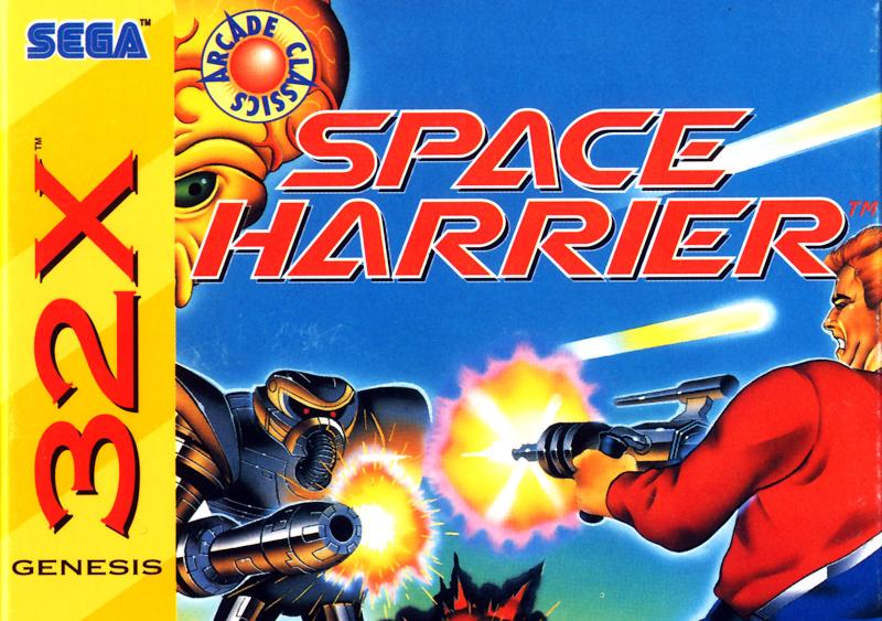 space harrier genesis
