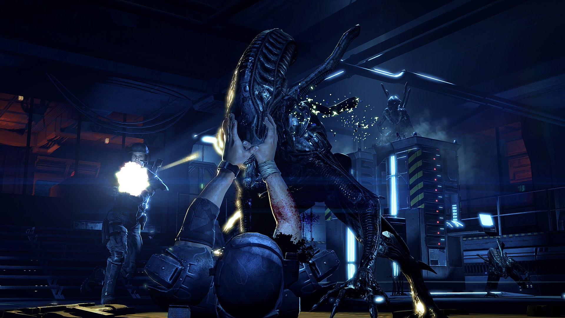 aliens colonial marines beta changes