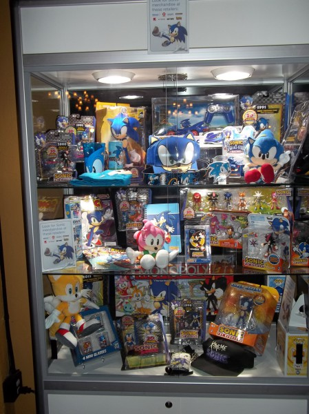 Look at all that merchandise.