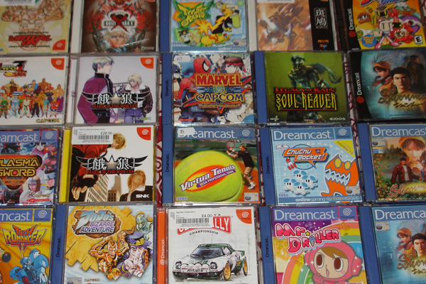 Sega five how to be the best dreamcast collector that you can be