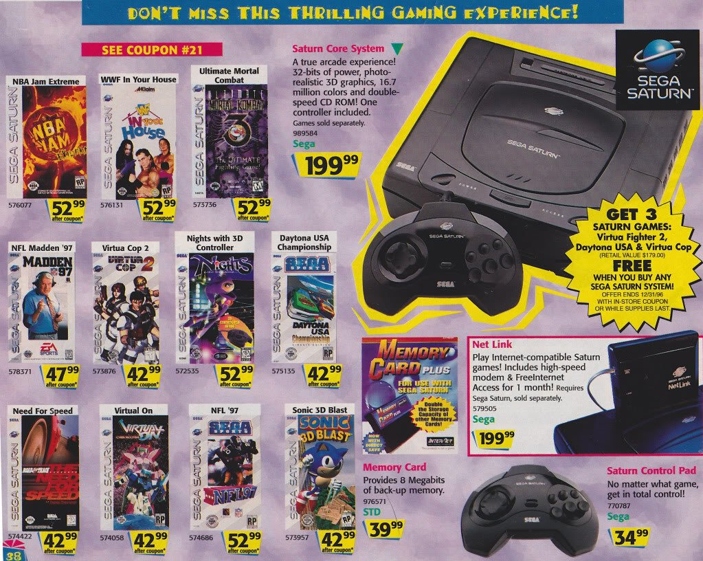 Toy R Us Store Catalog : Sega memories a look back at toys 'r us holiday