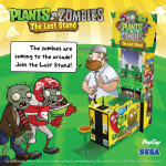 Check out SEGA's Plants vs. Zombies The Last Stand arcade cabinet