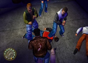 segabits shenmue 50 man brawl