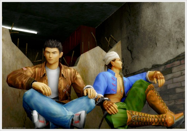 segabits shenmue ren escape