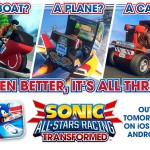 Sonic & All-Stars Racing Transformed hits iOS and Android tomorrow with Ryo Hazuki joining the race!