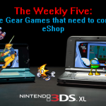 The Weekly Five: Five Game Gear games that need to come to eShop