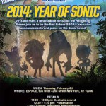 Big Sonic Event in New York later today