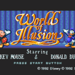 Retro Review: World of Illusion Starring Mickey Mouse and Donald Duck