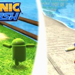 Sonic Dash for Android features two new racers – the Android Robot and Andronic