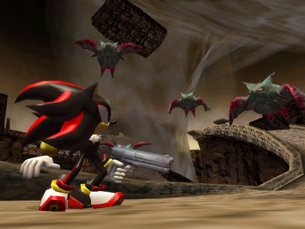segabits shadow the hedgehog bad visuals