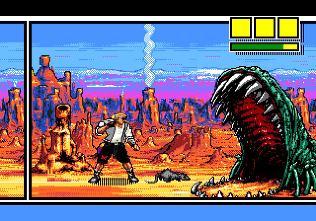[Análise Retro Game] - Comix Zone - Genesis ComixZone2