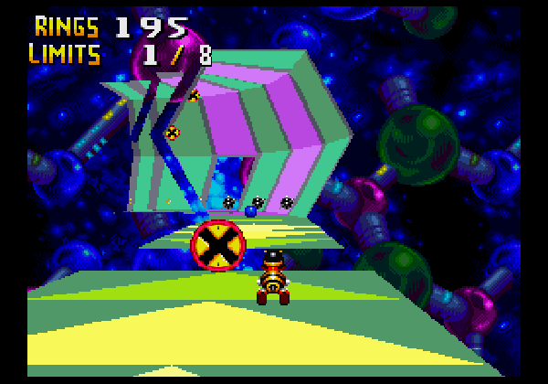 Chaotix also had Sonic's first 3D platforming stages