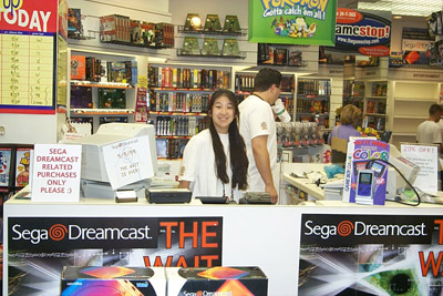 """Yes, I will take 1 Dreamcast please"" - SEGA fans"