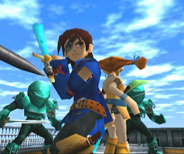 segabits skies of arcadia battle