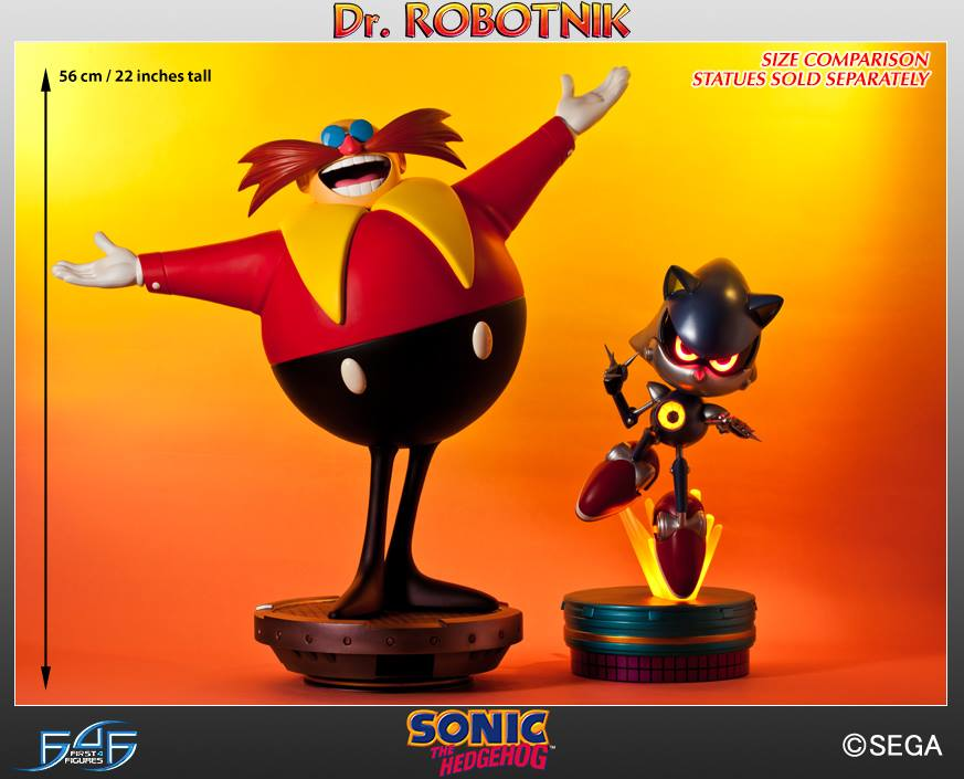 First 4 Figures Dr Robotnik Up For Pre Order Wait So It S Not Dr Eggman Anymore Segabits 1 Source For Sega News
