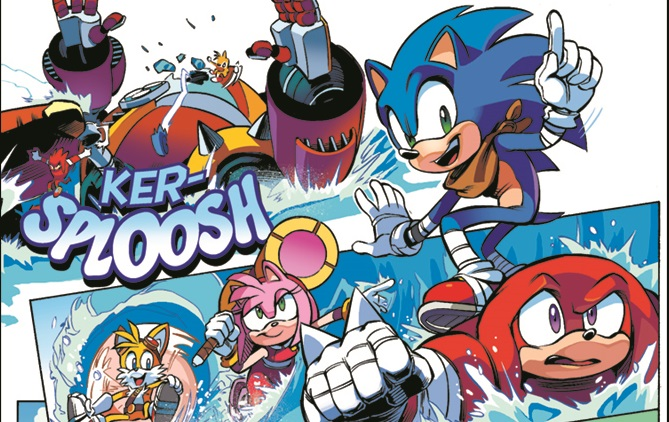 Sneak peek at Archie Comics Sonic Boom issue 1 » SEGAbits