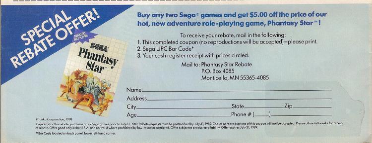 SEGA Newsletter 4