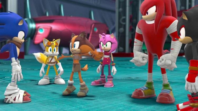 Sonic Boom Rise Of Lyric Скачать Игру - фото 9