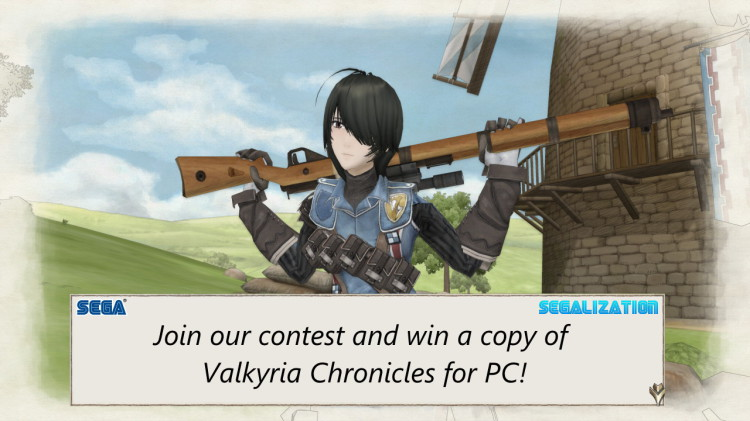 Valkyria Chronicles Segalization Giveaway