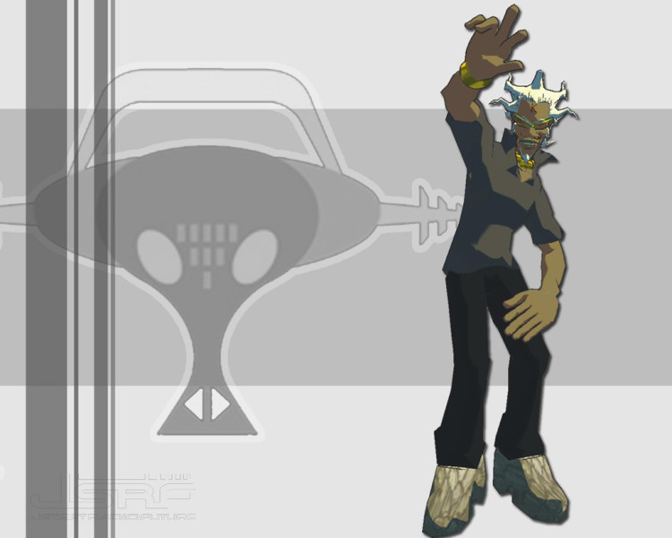 segabits jet set radio future professor k