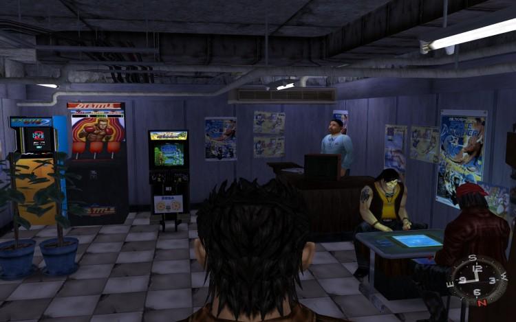 Shenmue Arcades