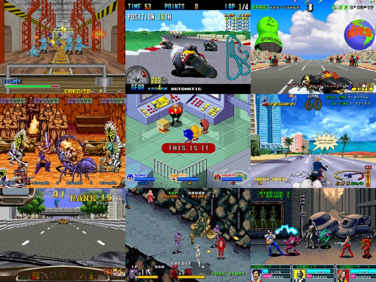 Between arguably Sega's most memorable Sega arcade boards, System 16 and Model 1/2, Sega still had quite a few games on it's System series of arcade hardware. Many were not ported to home consoles.