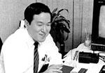 Hdeki Sato, in the early days.