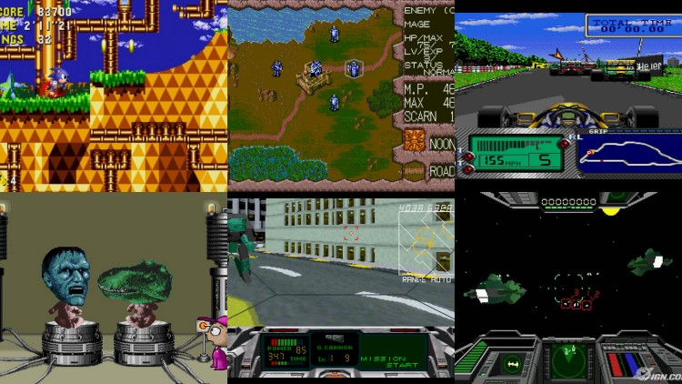 The Mega CD and 32X line-up wasn't the most iconic
