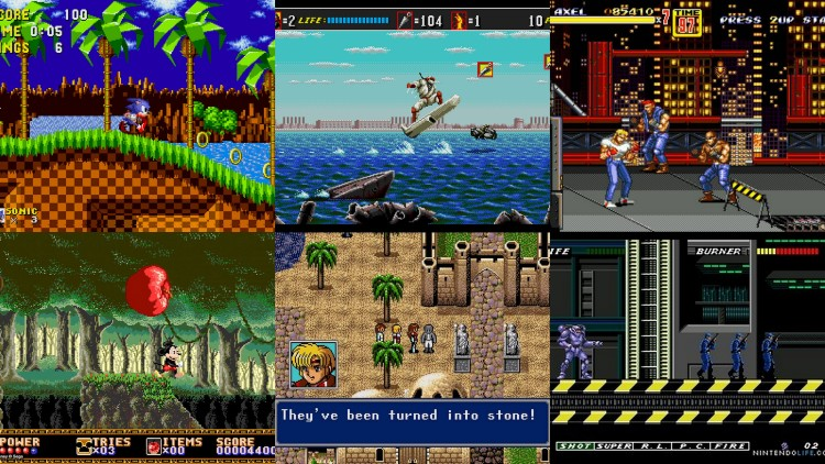 Sonic, Shinobi, Phantasy Star, Disney games and Streets of Rage solidified Sega's footing in western console market.