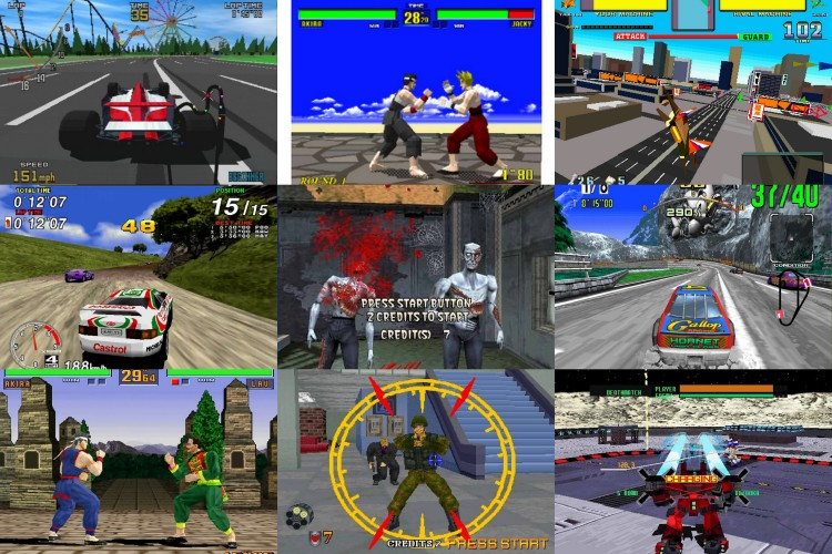 The Model series of arcade hardware by Yu Suzuki in co-operation with Lockhead Martin, where the next step in the Sega arcade world. Virtua Fighter sold Sega Saturns in Japan.