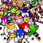 pixel art print Sonic