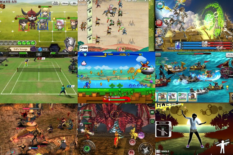 Examples of Sega console and arcade staff making mobile and F2P games.