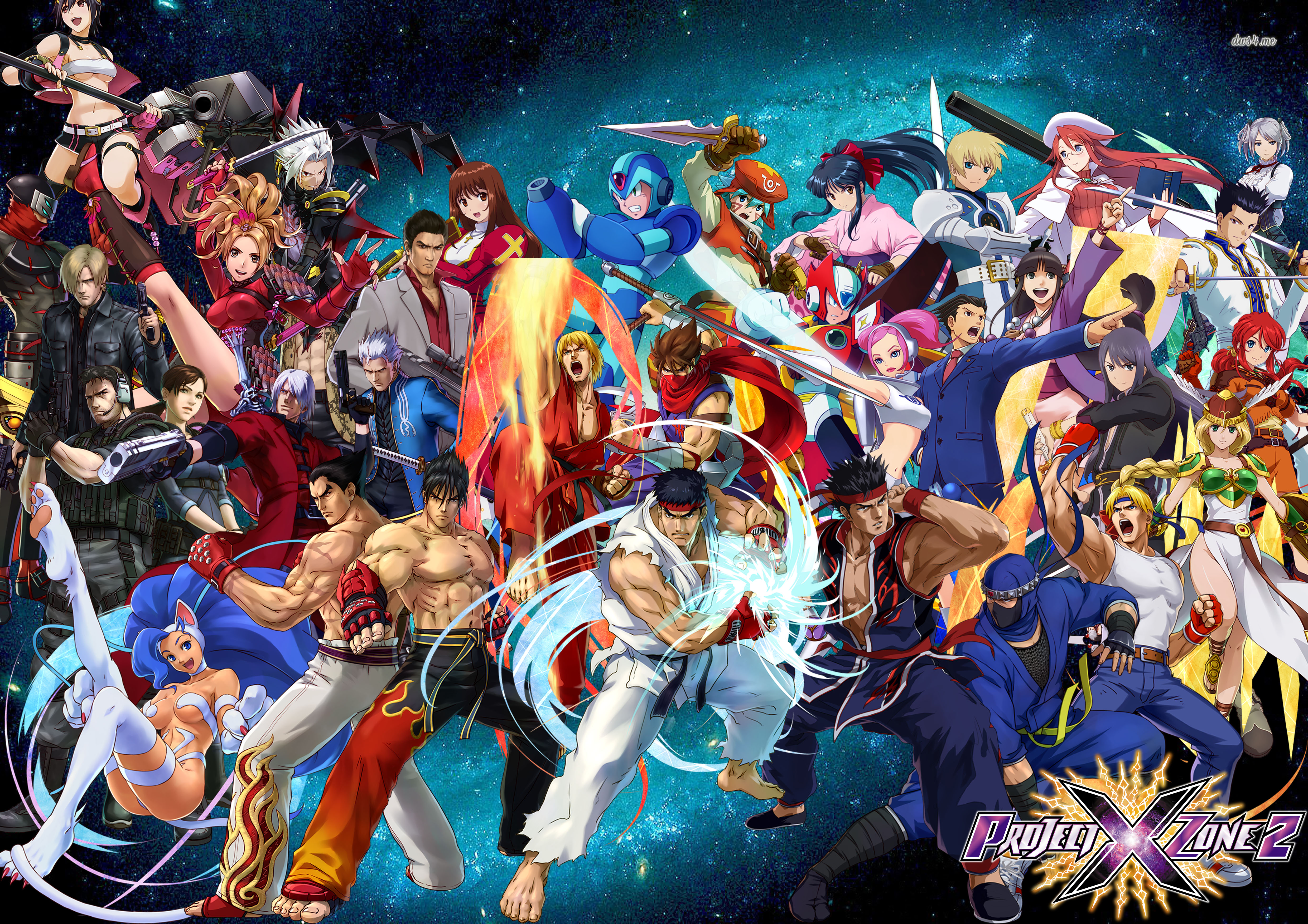 new project x zone 2 trailer released demo coming soon segabits 1 source for sega news. Black Bedroom Furniture Sets. Home Design Ideas