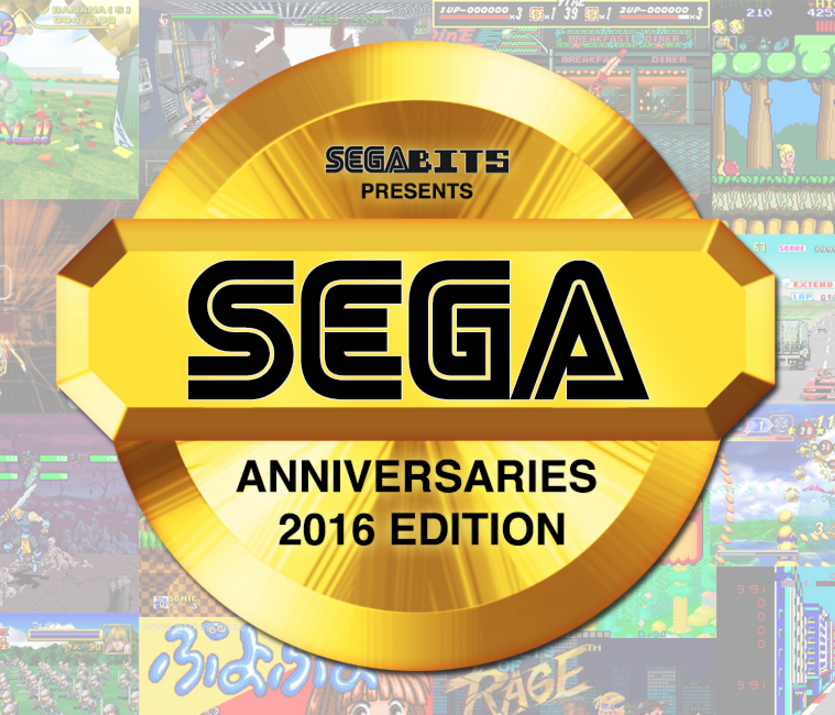 Big SEGA Anniversaries in 2016