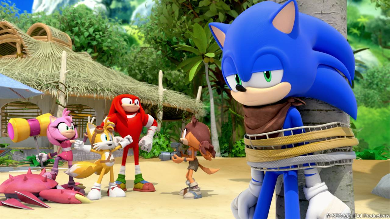 Sonic Boom Segabits 1 Source For Sega News