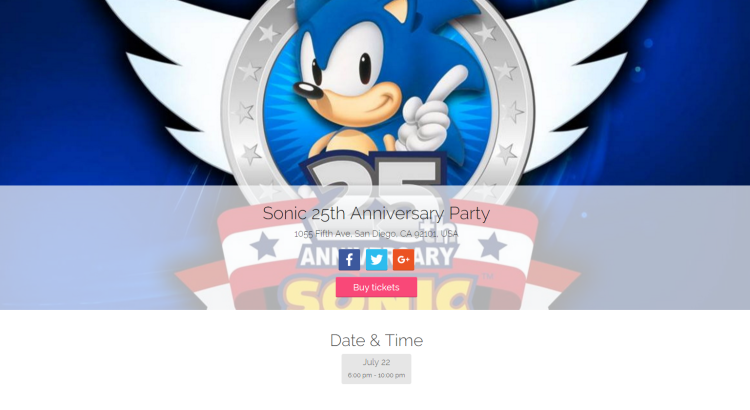 Sonic25thAnniversaryParty