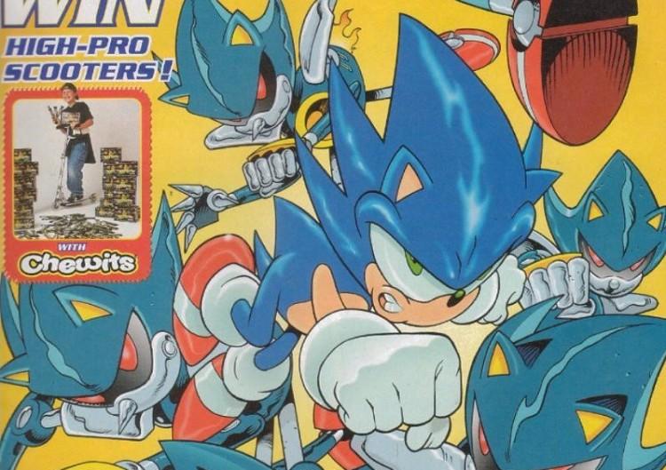 Sega Memories Looking Back On Fleetways Sonic The Comic Segabits