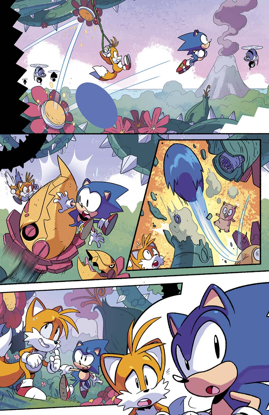 archie comic s sonic mega drive sequel issue announced titled