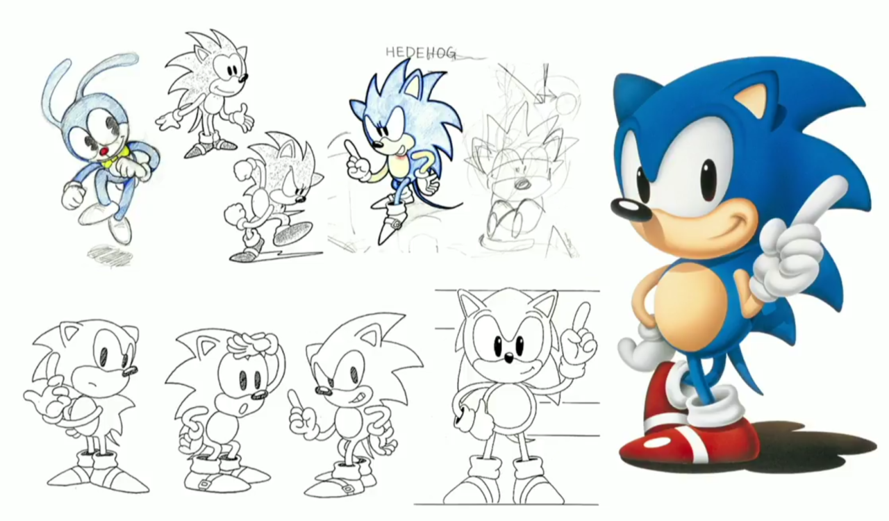 Sonic The Hedgehog And Friends Concept Art Revealed