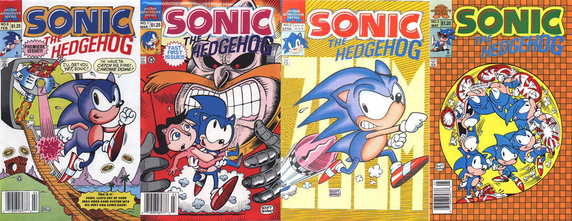 Archie Comics Reveals Sonic The Hedgehog Origin Story Arc Could Classic Sonic Be Making A Comeback Segabits 1 Source For Sega News