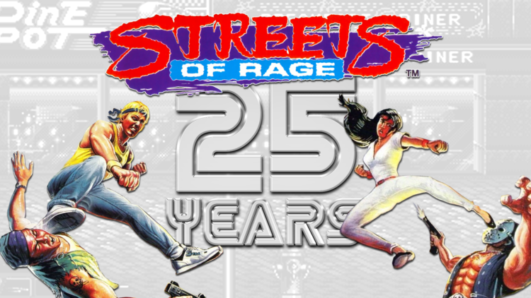 Streets of Rage 25 years